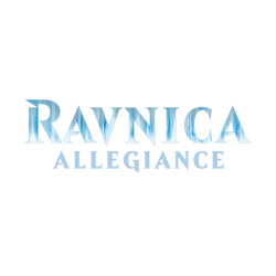 Empty Ravnica Allegiance Bundle Box
