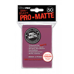 Ultra Pro - Pro-Matte Standard 50 Sleeves - Blackberry