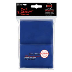 Ultra Pro - Standard 100 Sleeves - Blue
