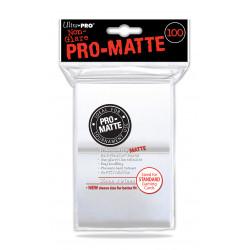 Ultra Pro - Pro-Matte Standard 100 Sleeves - White
