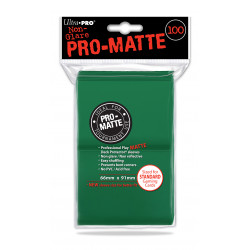 Ultra Pro - Pro-Matte Standard 100 Sleeves - Green