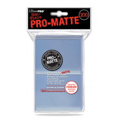 Ultra Pro - Pro-Matte Standard 100 Sleeves - Clear