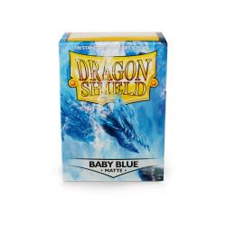 Dragon Shield - Matte 100 Sleeves - Baby Blue 'Bethia'