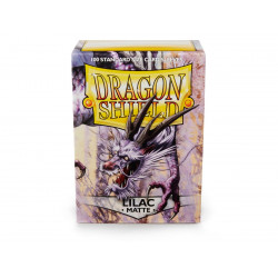 Dragon Shield - Matte 100 Sleeves - Lilac 'Pashalia'