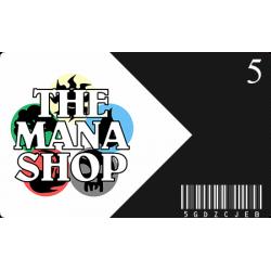 Carte Cadeau The Mana Shop CHF 5.-
