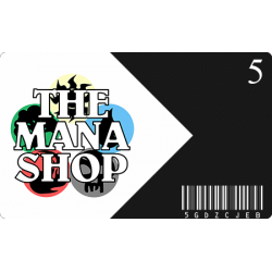 Gift Card The Mana Shop CHF 5.-
