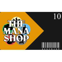 Carte Cadeau The Mana Shop CHF 10.-