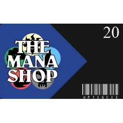 Carte Cadeau The Mana Shop CHF 20.-