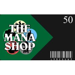 Carte Cadeau The Mana Shop CHF 50.-