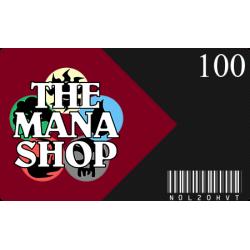 Carte Cadeau The Mana Shop CHF 100.-