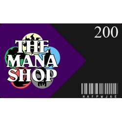 Carte Cadeau The Mana Shop CHF 200.-