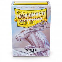 Dragon Shield - Matte 100 Sleeves - White 'Bounteous'