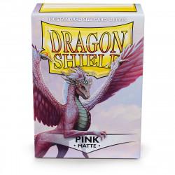Dragon Shield - Matte 100 Sleeves - Pink 'Christa'