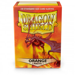 Dragon Shield - Matte 100 Sleeves - Orange 'Usaqin'