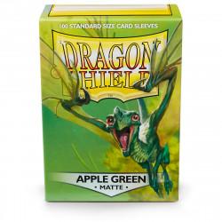 Dragon Shield - Matte 100 Sleeves - Apple Green 'Eliban'