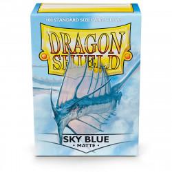 Dragon Shield - Matte 100 Sleeves - Sky Blue 'Strata'