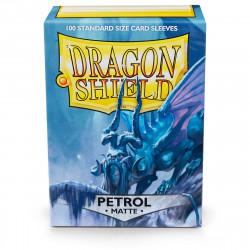 Dragon Shield - Matte 100 Sleeves - Petrol 'Abigan'