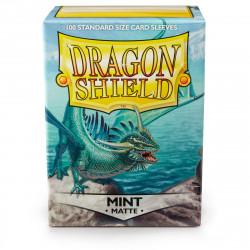 Dragon Shield - Matte 100 Sleeves - Mint 'Bayaga'