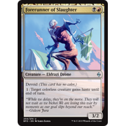 Forerunner of Slaughter