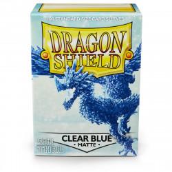 Dragon Shield - Matte 100 Sleeves - Clear Blue 'Celeste'