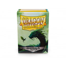 Dragon Shield - Matte 100 Sleeves - Emerald 'Rayalda'