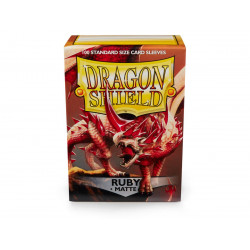 Dragon Shield - Matte 100 Sleeves - Ruby 'Rubis'