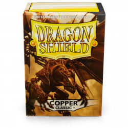 Dragon Shield - Classic 100 Sleeves - Copper 'Fiddlestix'