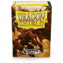 Dragon Shield - Classic 100 Sleeves - Copper 'Fiddlestix'