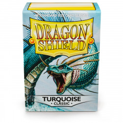 Dragon Shield - Classic 100 Sleeves - Turquoise 'Methestique'