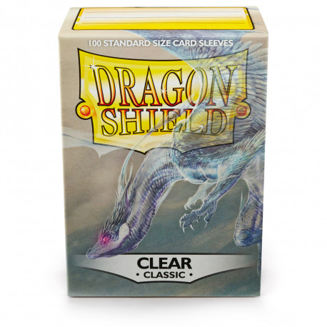 Dragon Shield - Clear Sleeves, 100ct