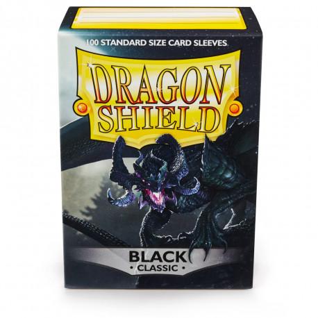 Dragon Shield - Black Sleeves, 100ct
