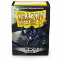 Dragon Shield - Classic 100 Sleeves - Black 'Signoir'