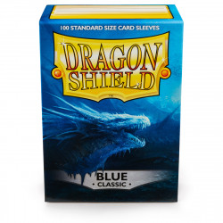 Dragon Shield - Classic 100 Sleeves - Blue 'Drasmorx'