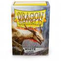 Dragon Shield - Classic 100 Sleeves - White 'Aequinox'
