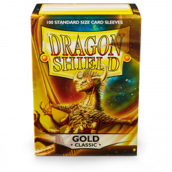 Dragon Shield - Classic 100 Sleeves - Gold 'Pontifex'