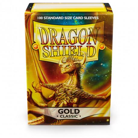 Dragon Shield - Gold Sleeves, 100ct