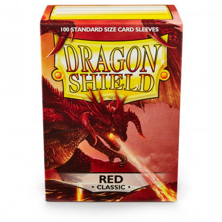 Dragon Shield - Red Sleeves, 100ct