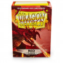 Dragon Shield - Classic 100 Sleeves - Red 'Titanius'