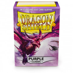 Dragon Shield - Purple Sleeves, 100ct
