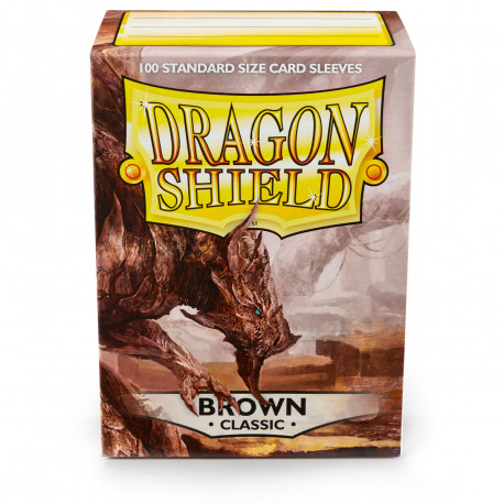Dragon Shield - Brown Sleeves, 100ct