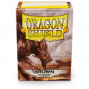 Dragon Shield - Classic 100 Sleeves - Brown 'Brakish'