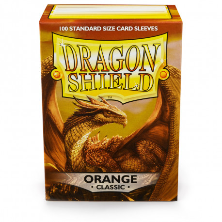 Dragon Shield - Orange Sleeves, 100ct
