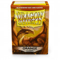 Dragon Shield - Classic 100 Sleeves - Orange 'Pyrox'