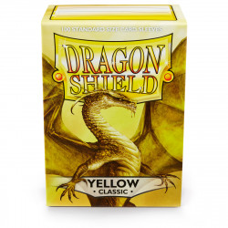 Dragon Shield - Yellow Sleeves, 100ct