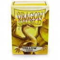 Dragon Shield - Classic 100 Sleeves - Yellow 'Corona'