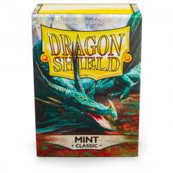 Dragon Shield - Classic 100 Sleeves - Mint 'Cor'