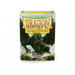 Dragon Shield - Classic 100 Sleeves - Green 'Verdante'