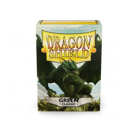 Dragon Shield - Green Sleeves, 100ct
