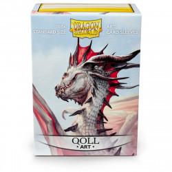 Dragon Shield - Art 100 Sleeves - Qoll