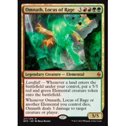 Omnath, Locus de rage